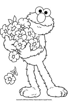 Free Printable Elmo Coloring Pages For Kids | Elmo, Free and Birthdays