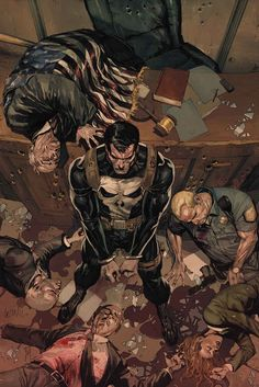 The Punisher (Marvel Comics). Punisher Marvel, Marvel Dc Comics, Marvel Vs, Heros Comics, The Punisher 2, Bd Comics, Marvel Heroes, Daredevil, Captain Marvel