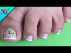 DECORACIÓN DE UÑAS MARIPOSA Y ROSAS PARA PIES - BUTTERFLY NAIL ART - ROSES NAIL ART - NLC - YouTube One Stroke Painting, Toe Nail Art, Diy Nails, How To Make, Pedicures, Pedicure Ideas, Youtube, Chocolate, Google