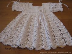 Crochet Designs Free: Behold, cuteness crochet dress for baby.Dress for a girl, this is so beautiful, perfect for a bauptism with diagramChristening baby dress in crochet Chart for dress stitch patternWhite dress girl and her free grids! Baby Girl Crochet, Crochet Baby Clothes, Crochet For Kids, Crochet Children, Crochet Dresses, Crochet Designs, Graph Crochet, Crochet Ideas, Crochet Baby Dresses