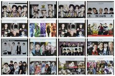 [BIGBANG] K-POP Kpop Idol YG BigBang Photo 2015~2016  Desk Calendar