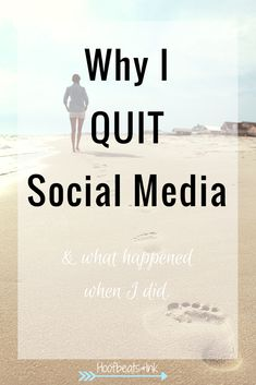 Why I quit social media, and what happened when I did. It's not for everyone, but you may find more pros than cons in quitting.