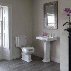 How to Create an Art Deco Contemporary Bathroom - Love Chic Living Simple Bathroom, Bathroom Art, Modern Bathroom, Bathroom Ideas, 1930s Bathroom, Bathroom Showers, Basement Bathroom, Bathroom Designs, Beautiful Bathrooms