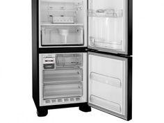 Geladeira/Refrigerador Brastemp Frost Free Duplex - 422L Inverse All Black Sistema Bar Expert BRE50NE com as melhores condições você encontra no Magazine Gatapreta. Confira!
