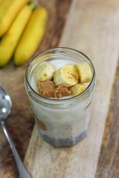 This Peanut Butter Overnight Oats is such a great time saver and it gives you energy from pure and simple ingredients. Although I used peanut butter in mine, you can also use almond butter if you prefer.