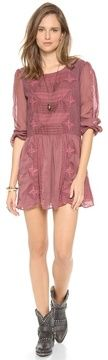 Free people Leigh Long Sleeve Lace Dress on shopstyle.com