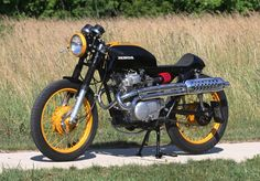 1975 Honda CB200T - Steve Baugrudl - The Bike Shed