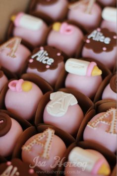 Petit Fours - Baby Shower