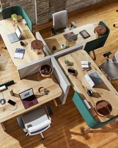 Steelcase Flex Collection – Executive Home Office Design Corporate Office Design, Open Office Design, Office Table Design, Small Space Office, Office Furniture Design, Workspace Design, Office Workspace, Office Interior Design, Office Interiors