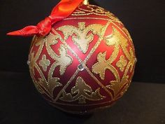 Waterford Holiday Heirlooms Kayla Ball Ornament Brand New In Box