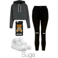 Suga Inspired Outfit - New Site Outfits For Teens, Fall Outfits, Casual Outfits, Cute Outfits, Look Fashion, Teen Fashion, Korean Fashion, Womens Fashion, Bts Clothing