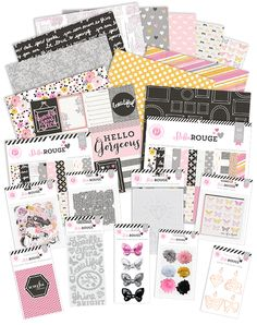 Pink Paislee's Bella Rouge Collection @pinkpaislee #pinkpaislee #ppbellarouge