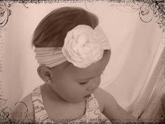 DIY headband from baby tights - tutorial