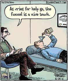 Funny Me, Funny People, Hilarious, Funny Stuff, Mental Health Humor, Bizarro Comic, Therapy Humor, Psychology Humor, Jokes