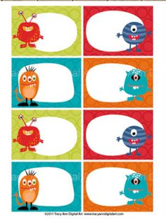 tags Monster Theme Classroom, Classroom Themes, Classroom Organization, Class Dojo, Monster Birthday Parties, Monster Party, Monster Clipart, Monster Under The Bed, Bookmarks Kids
