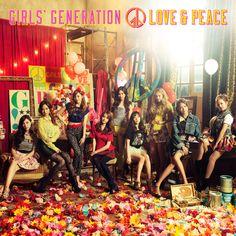 [Album] Girls' Generation - LOVE&PEACE [Japanese]