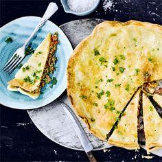 Pikant gewürzt, herzhaft gefüllt: unser Hackfleisch-Pie! #hackfleisch #pie #edeka