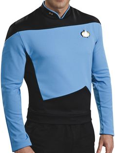 Shop for the Star Trek Next Generation Sciences Deluxe Costume Shirt today. This is an officially licensed Star Trek Costume Shirt available at Stylin ... & Star Trek Deluxe Blue Shirt | Star Trek Fancy Dress Costumes ...