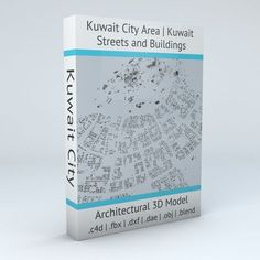 Kuwait City Area Streets and Buildings | 3D model
