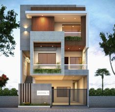 Modern Bungalow Exterior, Modern Exterior House Designs, Modern House Facades, Latest House Designs, Modern House Design, House Window Design, 2 Storey House Design, Bungalow House Design, House Front Design