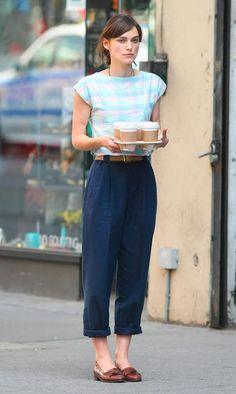 Pacific and June: Style Inspiration: Keira Knightley in 'Begin Again'