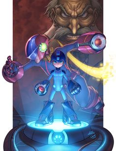 to ] Great to own a Ray-Ban sunglasses as summer gift.Now Loading. by ~omarito on deviantART Mega Man, Akira, Character Art, Character Design, Fighting Robots, 8bit Art, Playstation, Nerd Art, Pokemon