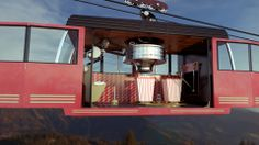 Bumpers for Television station in France by Roof Studio. roofstudio.tv #Animation #3D #motiongraphics #digital illustration #Surreal #Colorful #Cable Car #RoofStudio #Roof #CG #Machine #Broadcast #Photoreal #TF1 #PUB #France