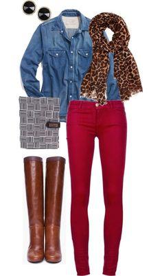 La agenda perfecta para combinar con muchos colores de pantalones.