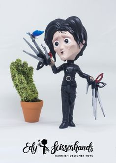 Edward Scissorhands Private commission art toy This has been sculpted in ZBrush and Marvelous Designer printed on an SLA printer the MOAI by Peopoly Hand painted using Mr. Small Studio, Zbrush, Sculpting, Pop Culture, Hand Painted, Toys, Artwork, Prints, Anime