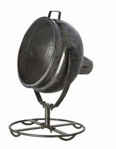 Industriële Vloerspot. Stoer voor de verlichting van wanden & objecten in je interieur. Ruwe, industriële uitstraling. Draaibare spot. Gratis bezorgd!
