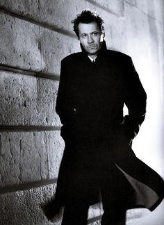 Gary Oldman - like I'd leave HIM off the trenchcoat list.