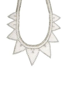 ASOS Faux Pearl Triangle Bib Necklace http://picvpic.com/women-jewellery-necklaces/asos-faux-pearl-triangle-bib-necklace?ref=9MoYrR