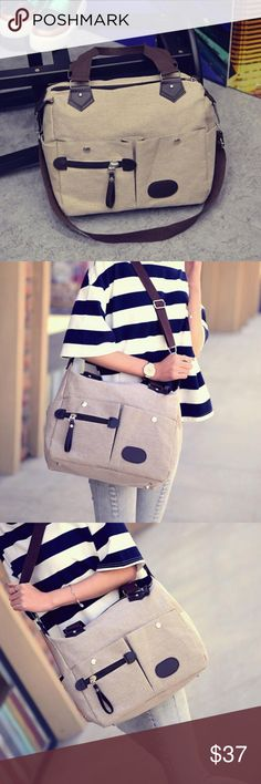Brand new Ziggy twig desert satchel. Canvas style Trendy desert style ladies shoulder/hand bag. Our bags Comfortable to wear and super cool to use!   100% Brand new and high quality. Quantity: 1PC Gender: Women Men Item Type: Handbags Shoulder bag Size: 32CM(L)*28CM(H)*15CM(W) Closure Type:Zipper A Casual bag full of personality, so fresh and unique This is a large capacity package, very practical Style: Casual Material: Canvas  We ship USPS  4 to 13 days delivery with TRACKING NUMBER. Ziggy…