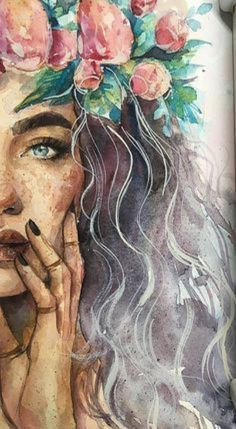 21 Must Known 2019 Tipps und Ideen f r die Kunstmalerei art idea Painting tips - ideen known kunstmalerei painting tipps # Surreal Artwork, Unique Paintings, Decorative Paintings, Watercolor Portraits, Watercolor Art, Art Sketches, Art Drawings, Chalk Pastel Art, Summer Art Projects