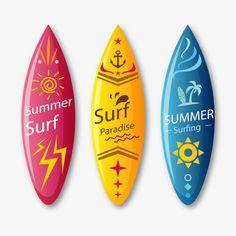 Vector de prancha de surf, Skate, A Praia, O MovimentoPNG e Vector
