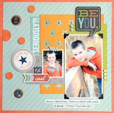 Layout created by design team member Vicki Boutin using our Him SN@P! Set