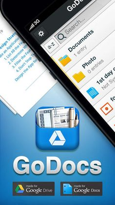Go Docs An app to help support Google Drive