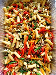 Pasta with Roasted Vegetables, Tomatoes, and Basil | JuJu Good News