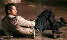 Gerard Butler by Danil Golovkin ~ Joey W Hill's Gideon if ever I saw one. Fictional character crush - absolutely!