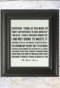 What a beautiful goal. Post Quotes, Find Quotes, Words Quotes, Wise Words, Quotes To Live By, Sayings, Dalai Lama Quotes Love, Peace Quotes, Wisdom Quotes