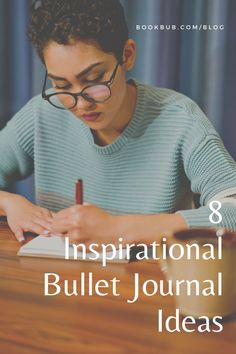 8 bullet journal template ideas for tracking your books. #books #bulletjournal #reading