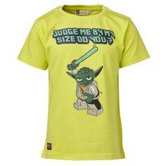 LEGO Wear Star Wars - Camiseta de manga corta para niño, color amarillo, talla 11 años (146 cm) #camiseta #realidadaumentada #ideas #regalo