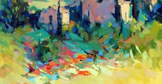 French Countryside by Trisha Adams Oil ~ 40 x 30 | Misc | Pinterest | French and Oil