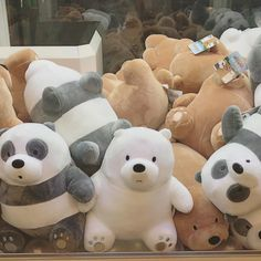 The photo - Kawaii - Plush Brown Aesthetic, Korean Aesthetic, Kawaii Plush, Cute Plush, We Bare Bears, Alluka Zoldyck, We Bear, Bear Wallpaper, Image Originale