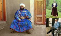 Not really flurries, but inspiration for costume and fashion designers often springs from the past, from ethnic people, from far-away places. Check out the amazing colour photos from pre-revolutionary Russia