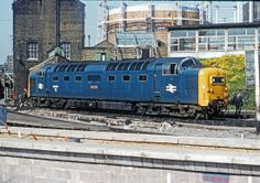 55011 'The Royal Northumberland Fusiliers' at Kings Cross on May Electric Locomotive, Diesel Locomotive, Steam Locomotive, Train Pictures, World Pictures, Old Trains, Hobby Trains, Uk Rail, Steam Railway