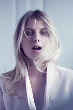 Melanie Laurent. Photographed by Matthew Brookes for InStyle magazine, June 2013.