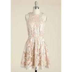 Pastel Mid-length Sleeveless A-line Windflower Waltz Sequin Dress