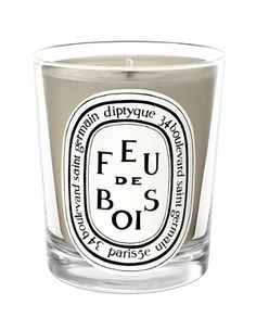 Even candle virgins can appreciate the graceful smokiness of the Feu de Bois candle from Diptyque - a bestseller for a reason! #luckyscent #father's #day #luxury #home #gift #ideas