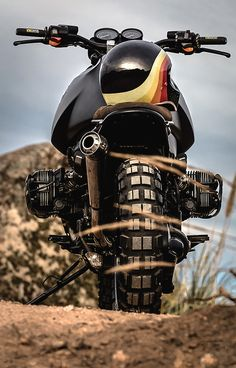 'Black King' BMW GS1100 – Lucky Custom